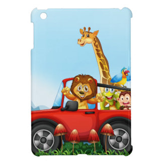Animals and cliff cover for the iPad mini