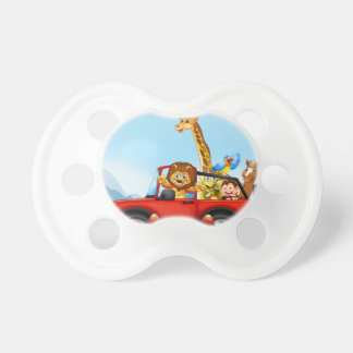 Animals and cliff pacifier