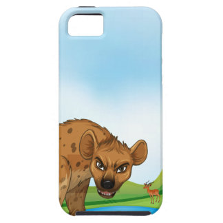 Animals and field iPhone SE/5/5s case
