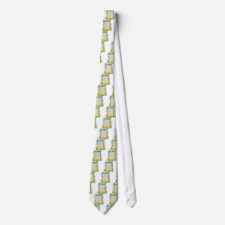 Animals and frame neck tie
