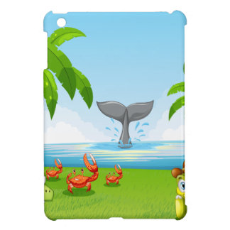 Animals and ocean case for the iPad mini