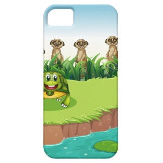 Animals and river iPhone SE/5/5s case