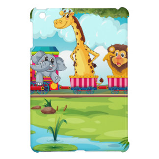 Animals and train cover for the iPad mini