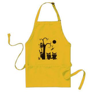 Animals and tree adult apron