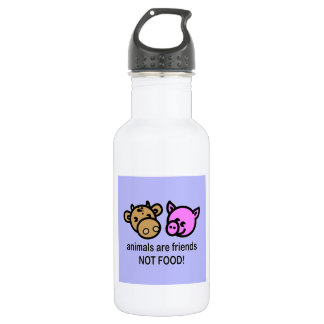 Animals are friends BPA FREE Stainless Steel Water Bottle