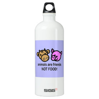 Animals are friends BPA FREE Water Bottle