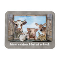 Animals are Friends. Magnet