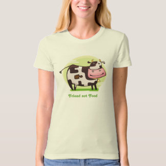 Animals are Friends not Food Tee Shirt