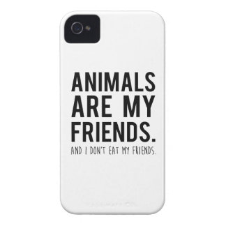 animals are my friends. and i don't eat my friends Case-Mate iPhone 4 case
