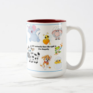 Animals are our friends Mug