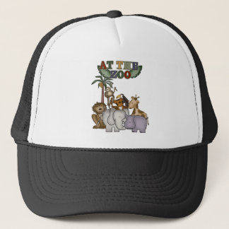 Animals At the Zoo Trucker Hat
