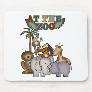 Animals at the Zoo Tshirts and Gifts Mouse Pad