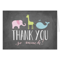 Animals | Baby Shower Thank You Card