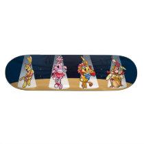 Animals Band Skateboard