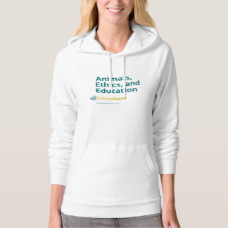 Animals, Ethics, and Education Hooded Pullover