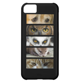 Animals Eyes Cover For iPhone 5C