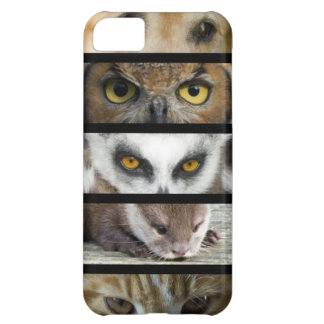 Animals Eyes Case For iPhone 5C