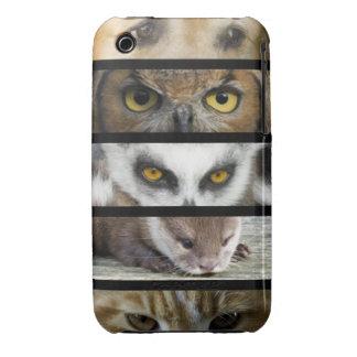 Animals Eyes iPhone 3 Cases