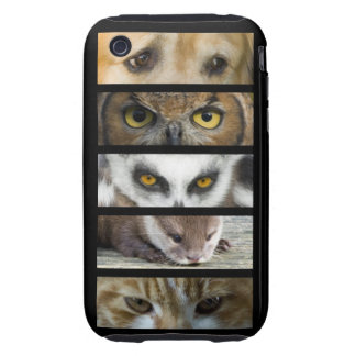 Animals Eyes iPhone 3 Tough Cases