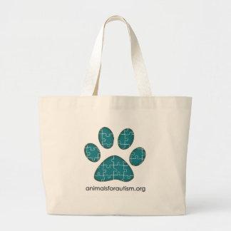 Animals for Autism Signature Logo bag