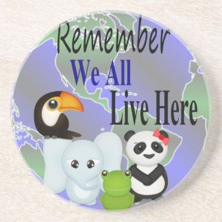 Animals Globe Coaster