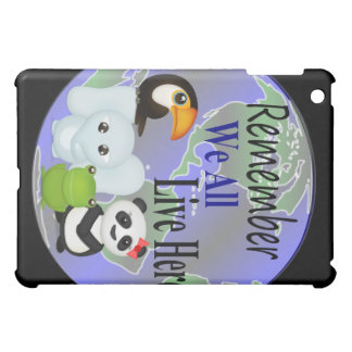 Animals Globe iPad Mini Cases