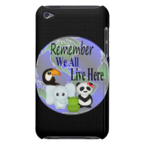 Animals Globe iPod Touch Cover