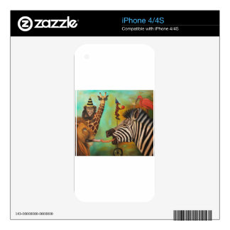 Animals Gone Wild Skin For iPhone 4S