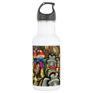 Animals Great & Small Stainless Steel Water Bottle