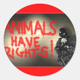 Animals Have Rights! Sticker