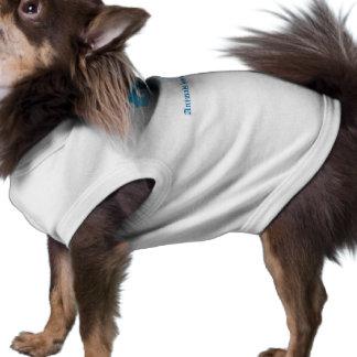 'Animals have souls to', Unique Logo Anne Germain Dog Tshirt