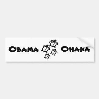 Animals_Honu_Ohana_Small, Obama, Ohana Etiqueta De Parachoque