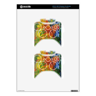 Animals in a Landscape by Franz Marc Xbox 360 Controller Decal