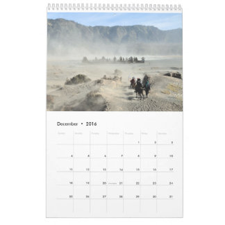 Animals in all the world calendar