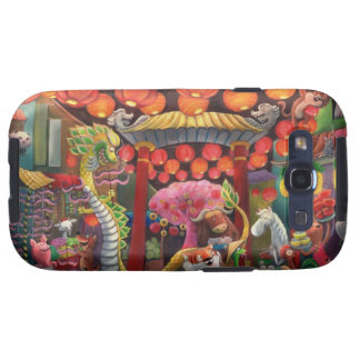 Animals in China Town Galaxy S3 Case