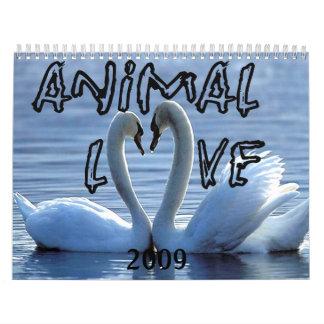 Animals In Love Calendar