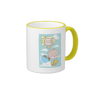 Animals in the Sky Coffee Mugs