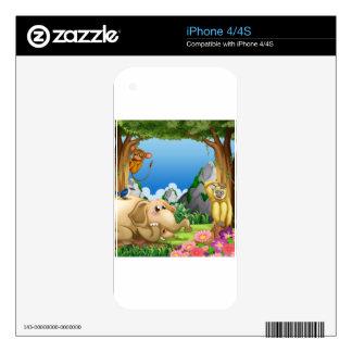 Animals iPhone 4 Skins