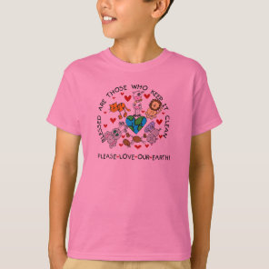 Animals Love Our Earth T-Shirt