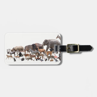 Animals Luggage Tag