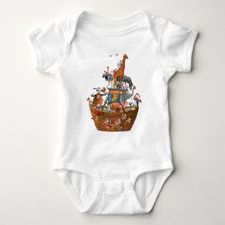 Animals Noah's Ark -  Baby T-shirt Creeper
