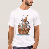 Animals Noah's Ark -  T-shirt