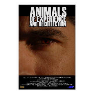 Animals of Experience and Recollection Poster