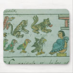 Animals of the Aztec Emperor Mouse Pad