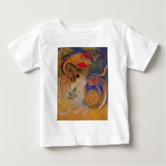 Animals of the Bottom of the Sea by Odilon Redon Baby T-Shirt