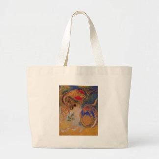 Animals of the Bottom of the Sea by Odilon Redon Jumbo Tote Bag