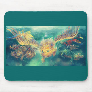 Animals of the Forest Mouse Pad