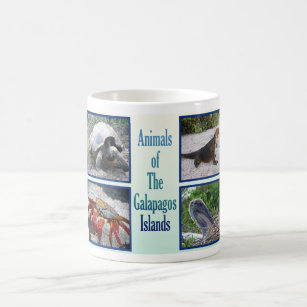 Animals of the Galapagos Islands Coffee Mug