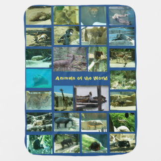 Animals of the World - Baby Blanket
