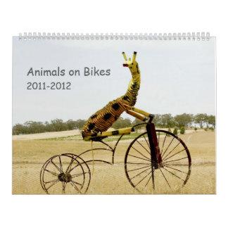 Animals on Bikes 2011-12 Calendar
